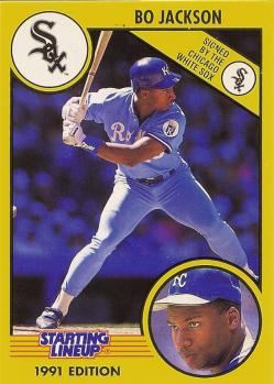 Chicago White Sox Bo Jackson Baseball Card Collection
