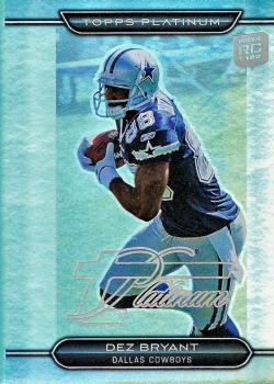 Dallas Cowboys Dez Bryant Football Card Collection